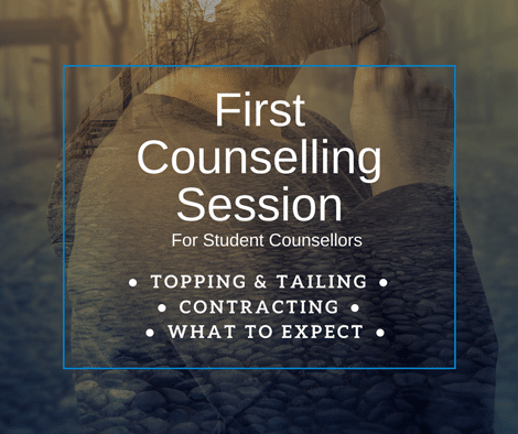Counselling Students First Counselling session