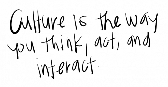 Culture definition: Culture is the way you think, act and interact