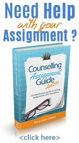 Need help with an assignment on counselling?