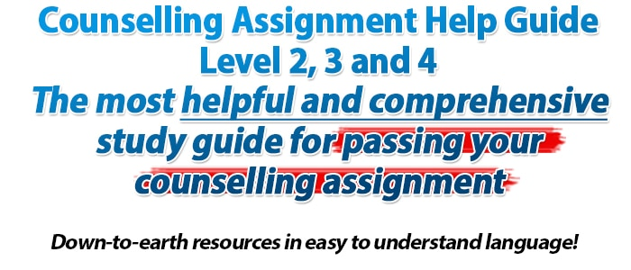 counselling skills assignment 1