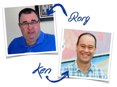 Ken and Rory ARTWORK