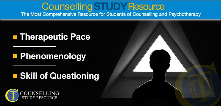 CT Podcast Ep007: Therapeutic Pace – Phenomenology – Skill of Questioning – BACP-Accredited Courses