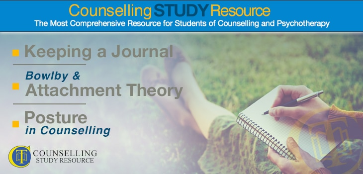 027 – Keeping a Journal – Bowlby and Attachment Theory