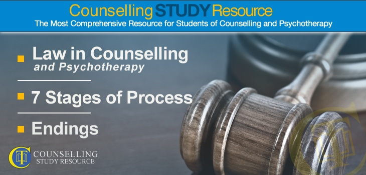 CT Podcast Ep38 – Law in Counselling and Psychotherapy – Seven Stages of Process – Endings