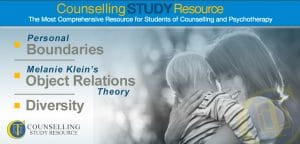 Counselling Tutor Podcast Ep40: Personal Boundaries – Melanie Klein's Object Relations Theory – Diversity