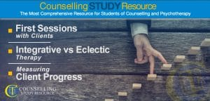 Counselling Tutor Podcast Episode 39: First Sessions with Clients – Integrative versus Eclectic Therapy – Measuring Client Progress