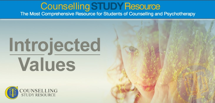 Counselling Tutor: Introjected Values