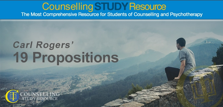 Counselling Tutor: Carl Rogers 19 Propositions