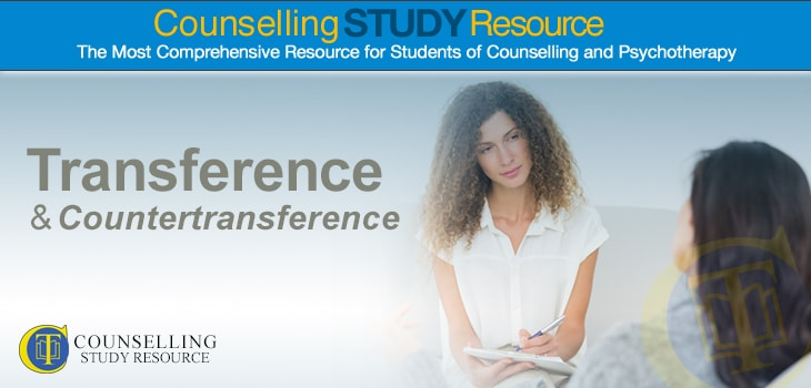 Transference and Countertransference in Counselling