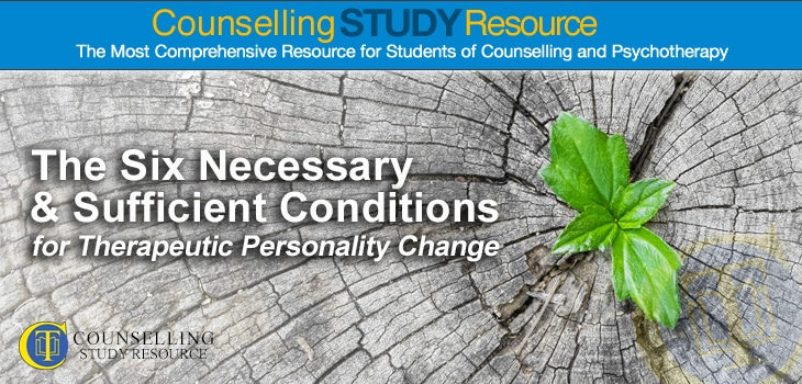 Counselling Tutor: 6 Necessary Conditions for Therapeutic Personality Change