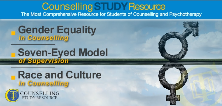 Counselling Tutor Podcast Ep055 – Gender Equality in Counselling – Seven-Eyed Model of Supervision – Race and Culture in Counselling