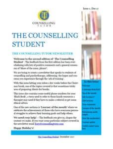 Counselling Tutor Newsletter