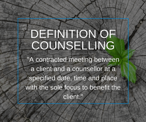 Definition of counselling