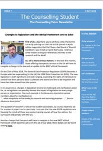 CT Newsletter May 2018
