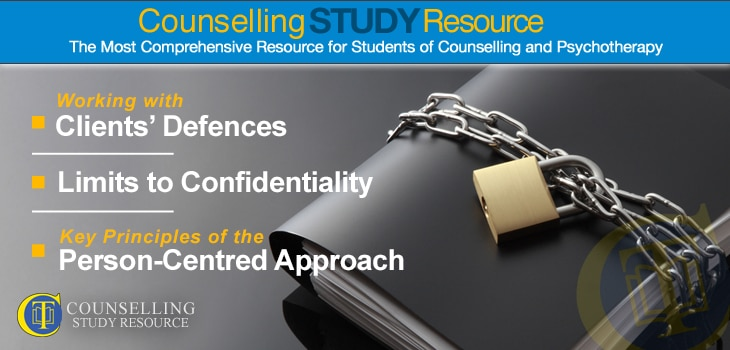 Counselling Tutor Podcast Ep76 - when to break confidentiality in counselling. A black file folder with a padlock