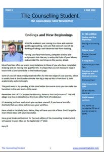 The Counselling Student June 2018 Newsletter