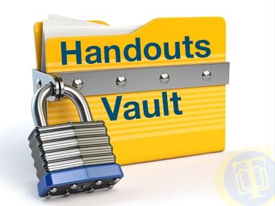 handouts vault1
