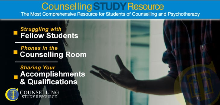 Counselling Tutor Podcast 91 - Struggles with Fellow Students on Counselling Course - Two persons having a disagreement