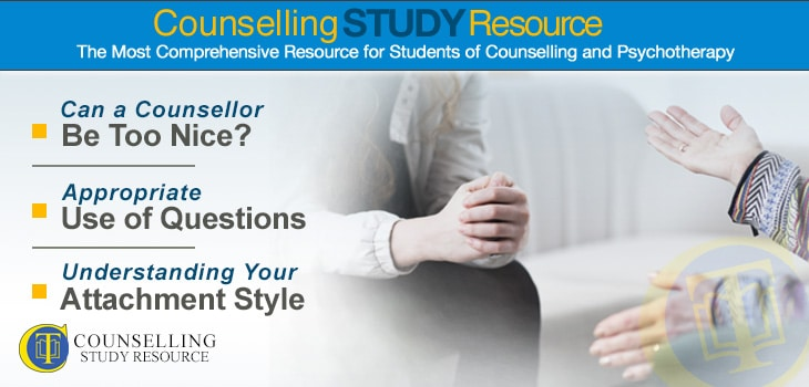 Use of Questions in Counselling - A woman talking with her counsellor during therapy