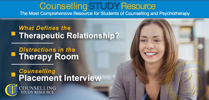 Counselling Placement Interview - A woman smiling during a counselling placement interview
