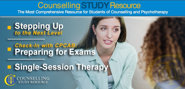 CT Podcast Ep150 featured image - Topics Discussed: Stepping up to the next level of counselling training; Preparing for exams; Single-session therapy with Windy Dryden