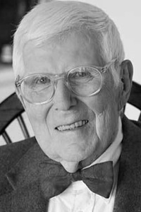 A photo of Aaron T. Beck whose cognitive therapy is strongly linked to Cognitive Behavioural Therapy.