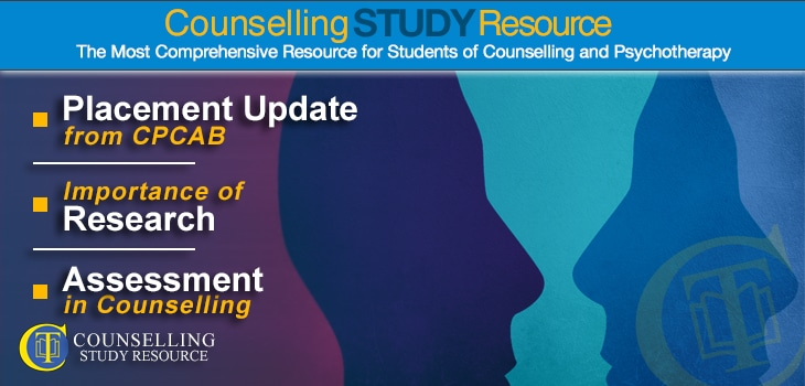 CT Podcast Episode 171 featured image - Topics Discussed: Placement update from CPCAB; Importance of research; Assessment in counselling