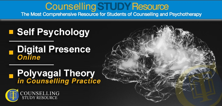 CT Podcast Episode 174 featured image - Topics Discussed: Self psychology for counsellors; Digital presence online; Polyvagal theory in counselling practice