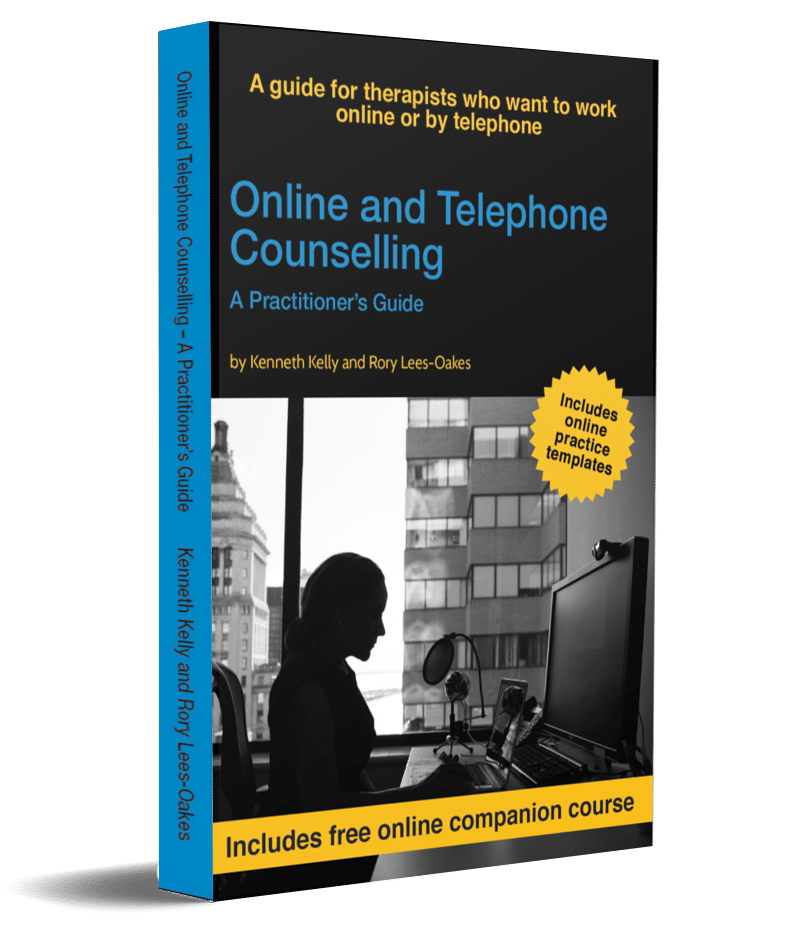 Online and Telephone Counselling Book - 3D book cover