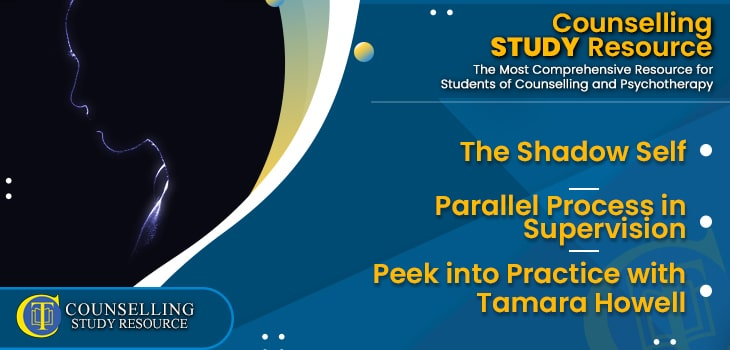 CT Podcast Ep194 featured image - Topics Discussed: The Shadow Self – Parallel Process in Supervision – Peek into Online Counselling Practice with Tamara Howell