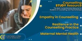 CT Podcast Ep199 featured image - Topics Discussed: Empathy in Counselling - Resilience in the Counselling Practice - Maternal Mental Health